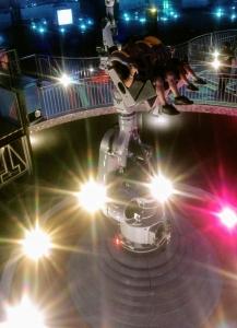 Dansen met robot Futuroscope