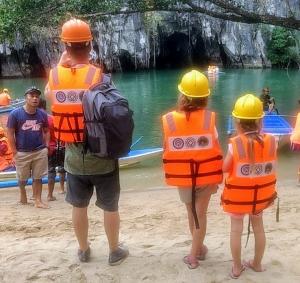 Palawan Filipijnen met kinderen