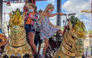 Carrousel monde marins