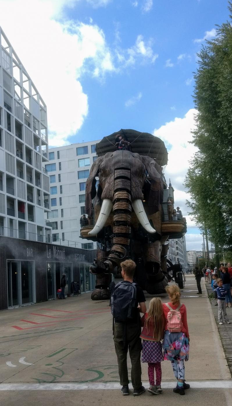 Le grand Elephant L'Ile de Machines