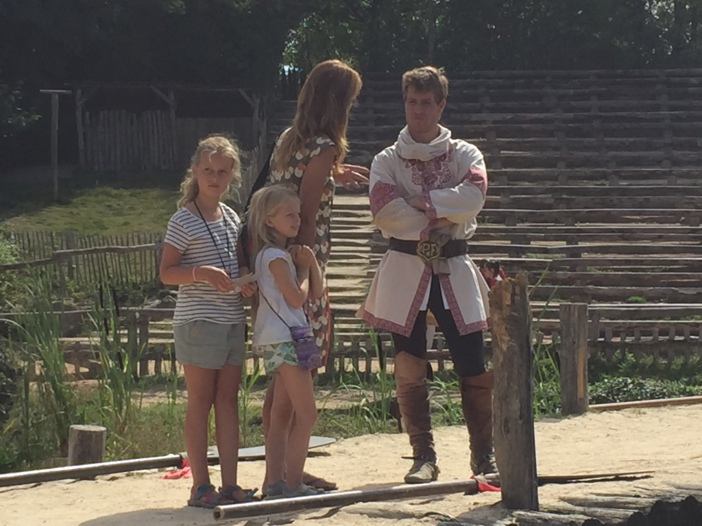 Interview acteur Puy du Fou