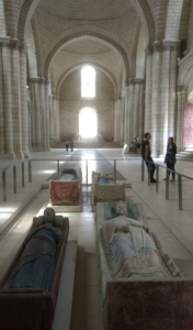 Interieur Abbaye Fontefraud