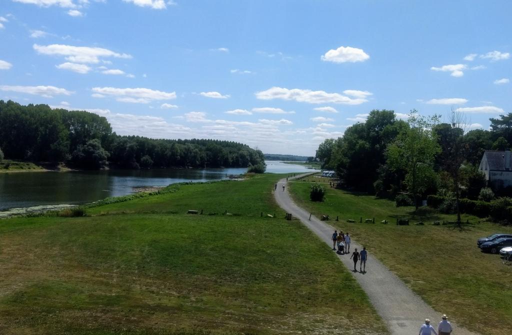 Loire bij Bouchemaine