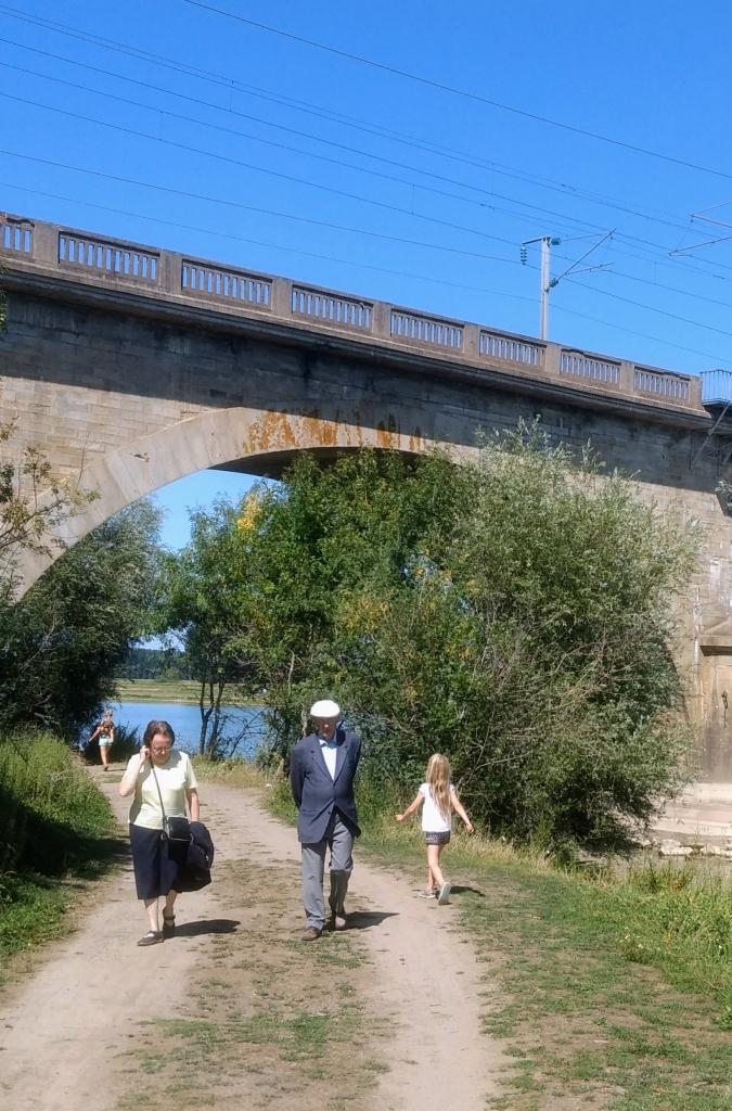 Aquaduct bij de Loire