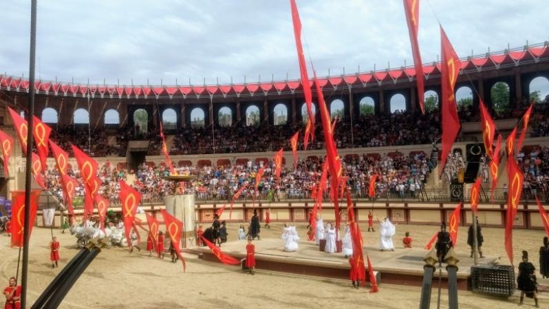 De Romeinen in Puy du Fou