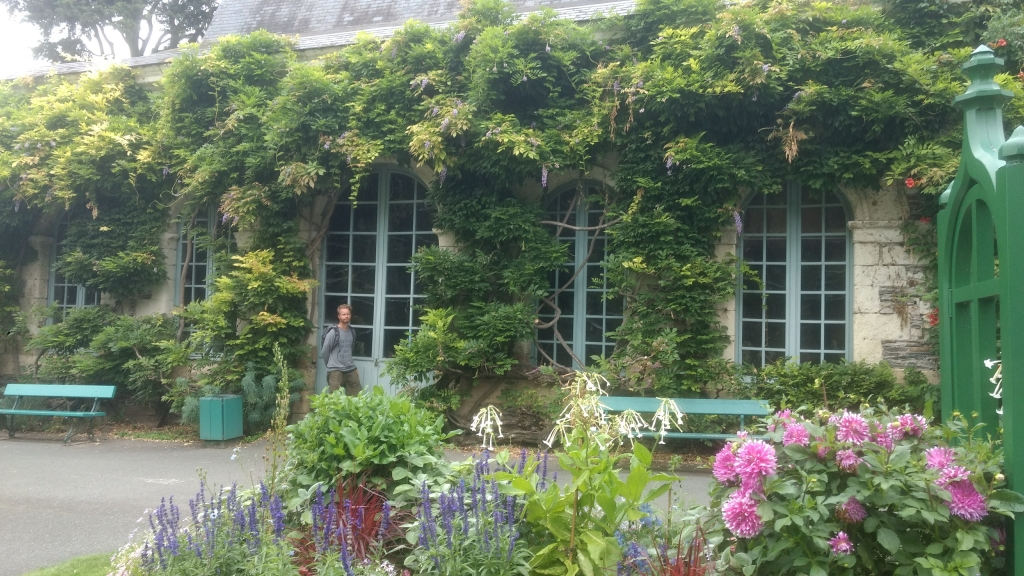 Botanische tuin/ park Angers