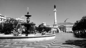 een stadswandeling door Lissabon