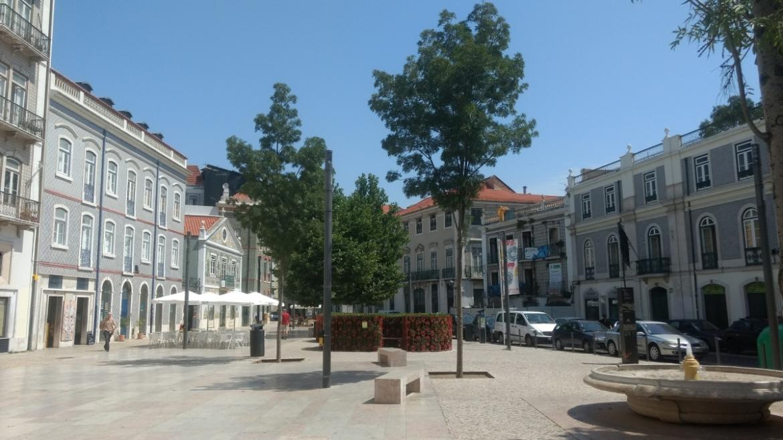 Mouraria wijk in Lissabon