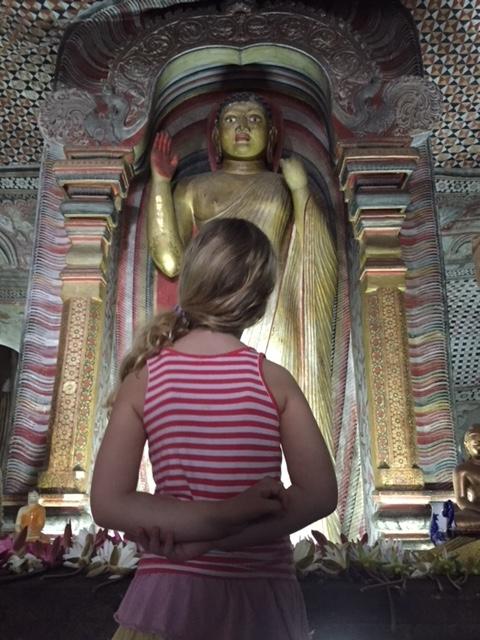 Dambulla cave tempel Kandy Sri Lanka