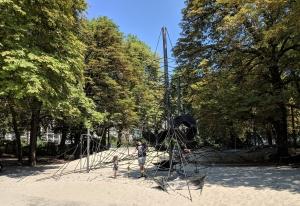 Speeltuin, parken Antwerpen