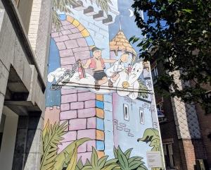 Suske en Wiske stripmuur Antwerpen