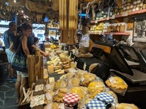 Delicatessen in de franse Alpen