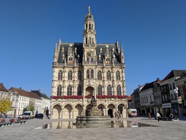 Vlaanderen Oudenaarde stadswandeling