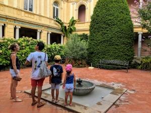 Hotel Pams Perpignan garden