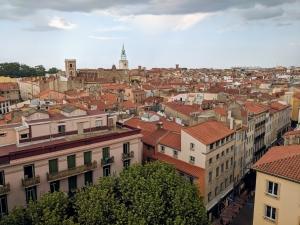 View Castillet Perpignan