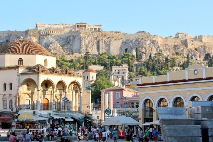Monistiraki plein Athene