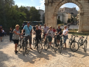 Bike tour Athene