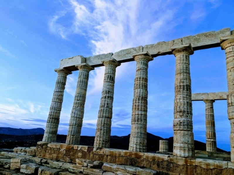Cape Sounion Poseidon tempel