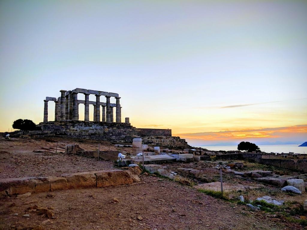 Poseidon temple Greece