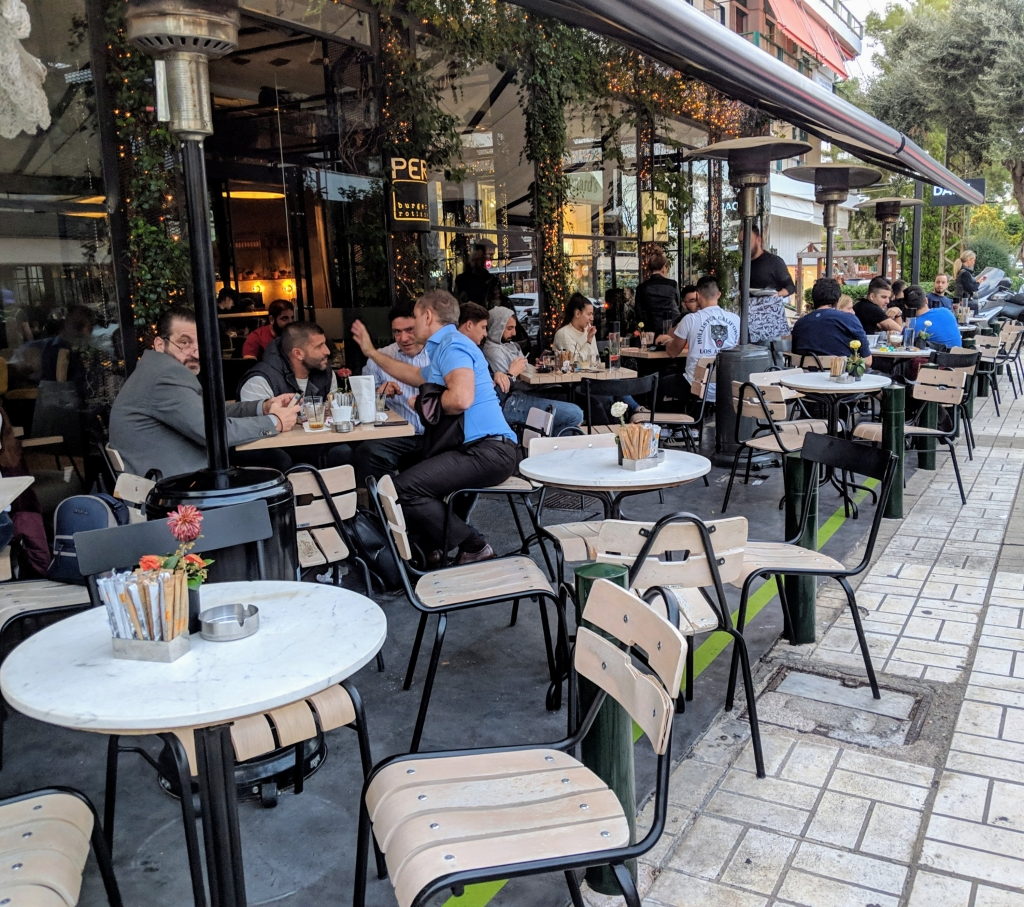 Glyfada het echte Athene