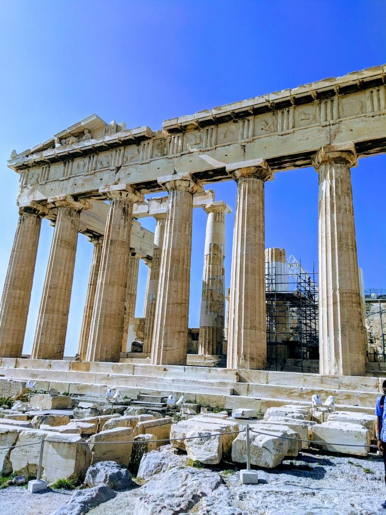 Athene Acropolis hoogtepunt