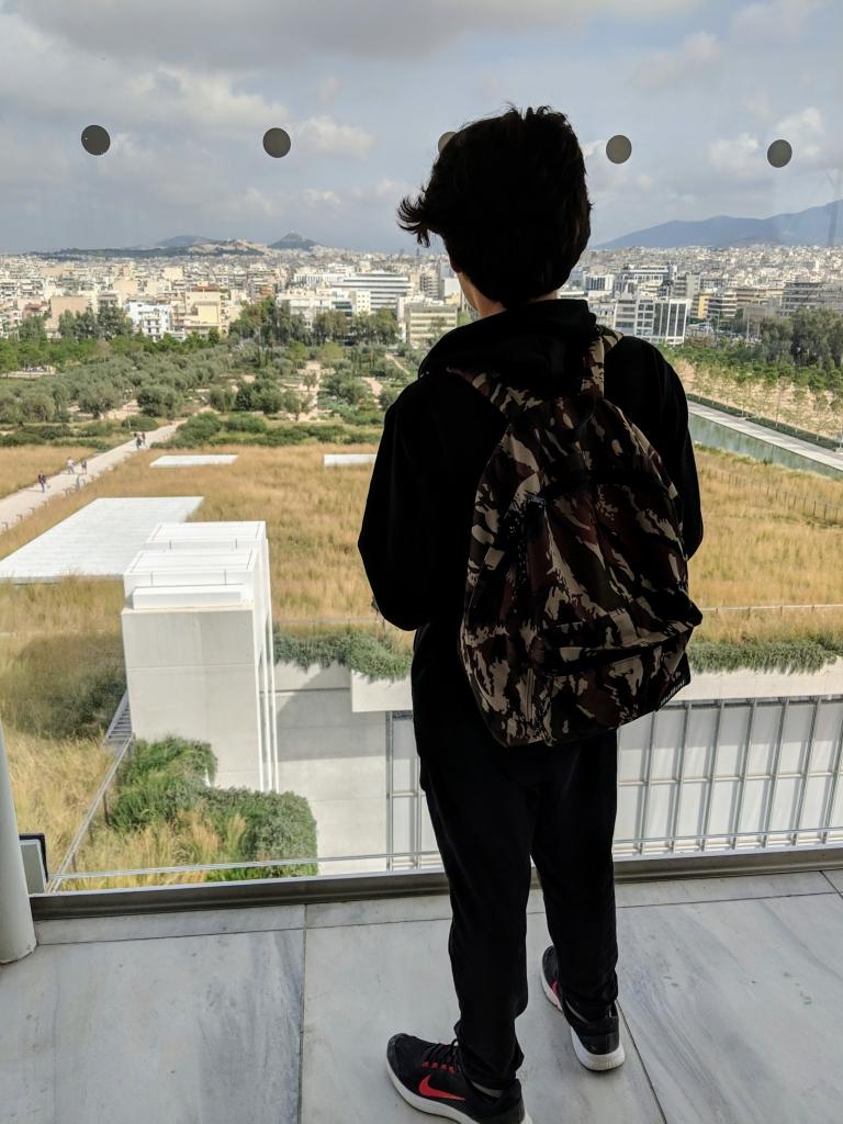 Athene uitzicht