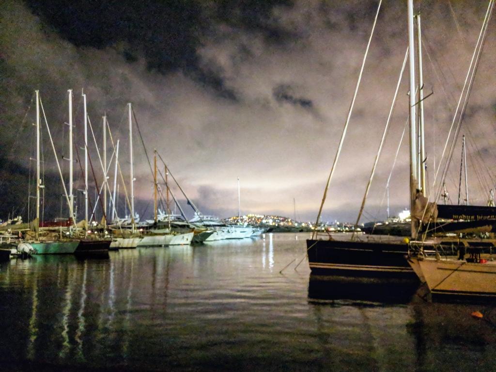 Flisvos harbour Athens