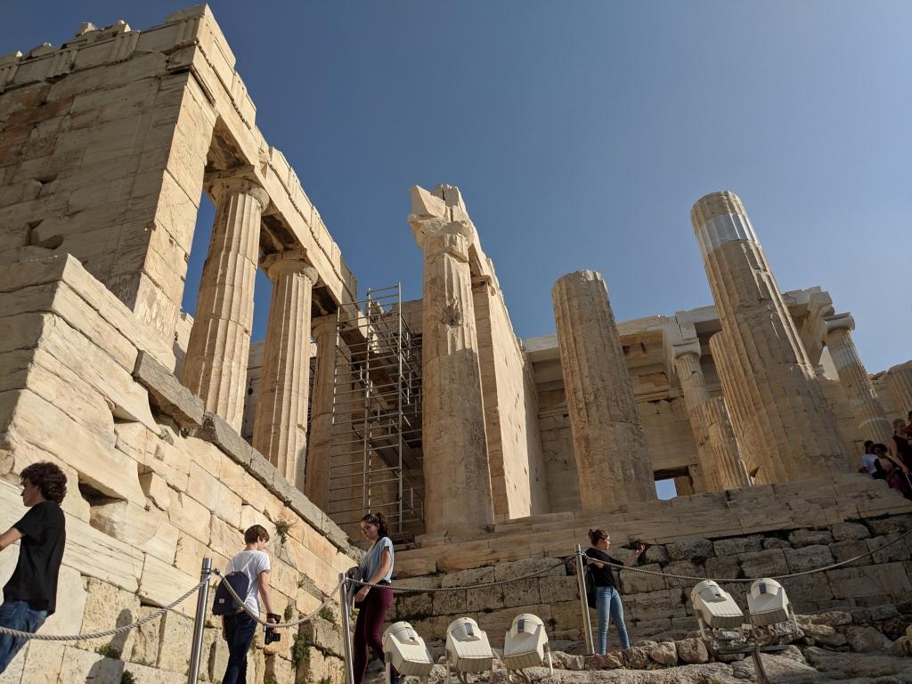avontuur in Athene Acropolis