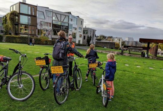Berlijn fietsen met kinderen
