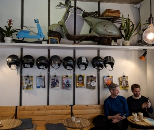 Vespa bar Antwerpen