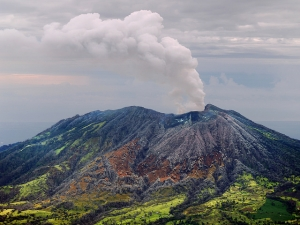 Turrialba Vulcano
