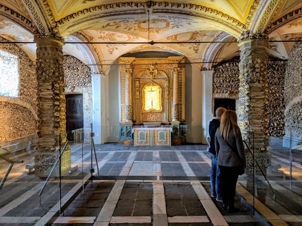 Chapel of Bones Portugal