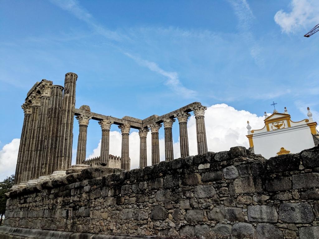 Romeinse tempel in De Alentejo