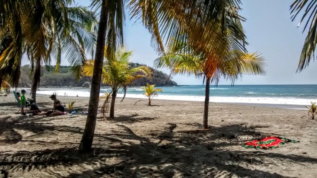 prachtige strand Costa Rica