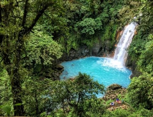 Costa Rica's Blue lagoon- Rio Celeste
