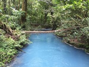 Blue lagoon Costa Rica