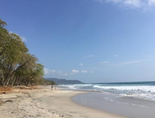 Riant strand- Santa Teresa
