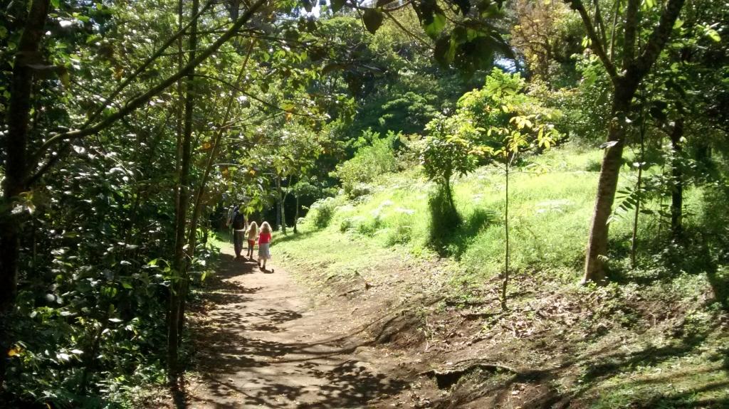 Costa Rica met kinderen
