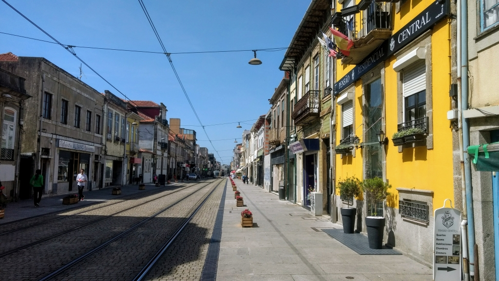 Vis eten in Porto