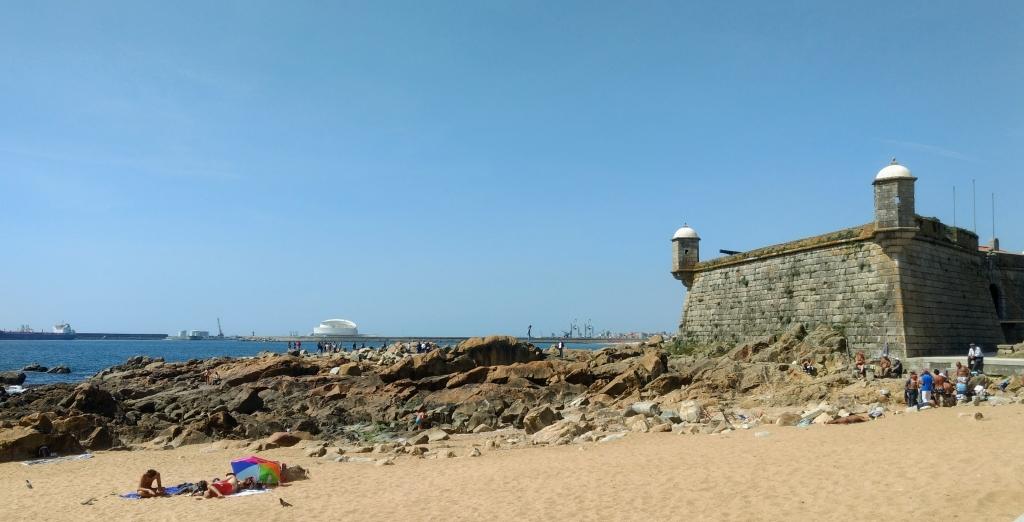 Afkoelen in Porto