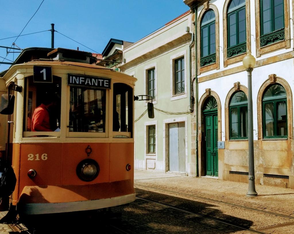 Electrico tram in Porto