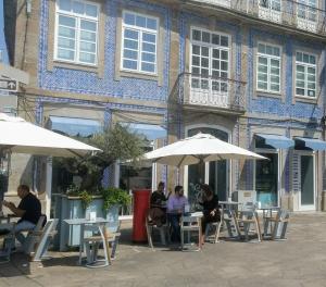 Centrum van Braga Portugal