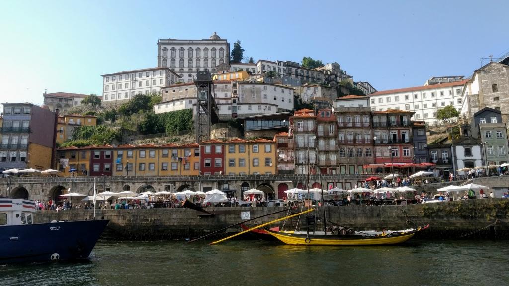 Boottocht in Porto