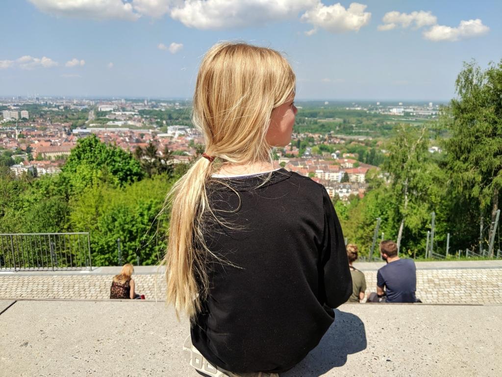 Turmberg uitzicht