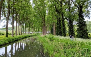 Vaart in Damme