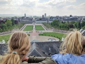 Uitzicht slot Karlsruhe