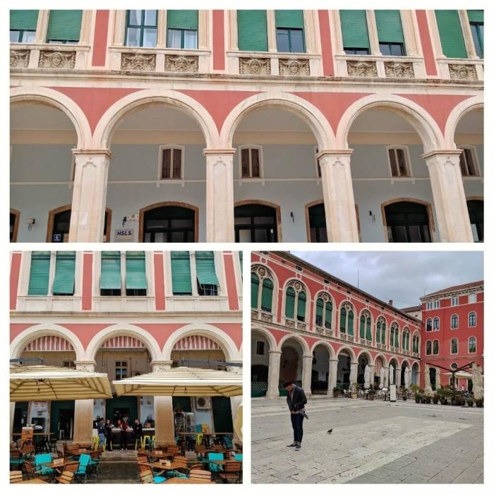 Mooiste plein Split Kroatië