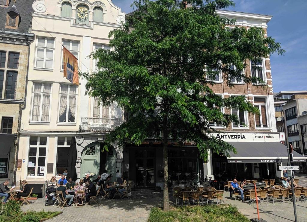 Terrasje Mechelen