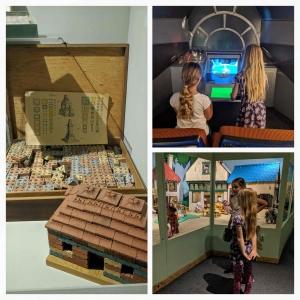 Spelen in het toys museum