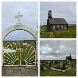 Zwart kerkje Reykjaes